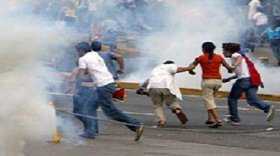 VENEZUELA-MEDIA-PROTESTS