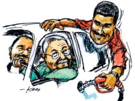 Kees-Verkaik-18.12.13-Gasolina-Maduro-Castro-Ortega-Tal-Cual